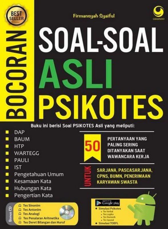 Buku Bocoran Asli Soal Soal Firmansyah Syaiful Mizanstore