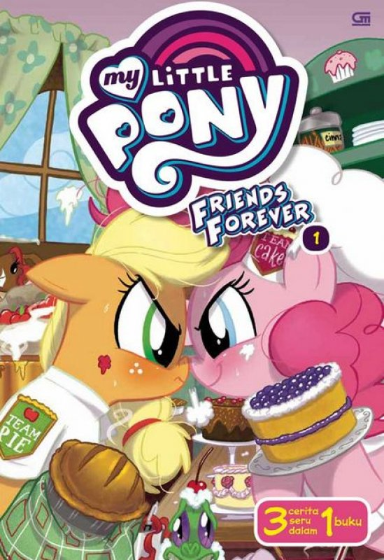 MY LITTLE PONY: FRIENDS FOREVER 1