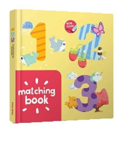 123 Matching Book - Boardbook