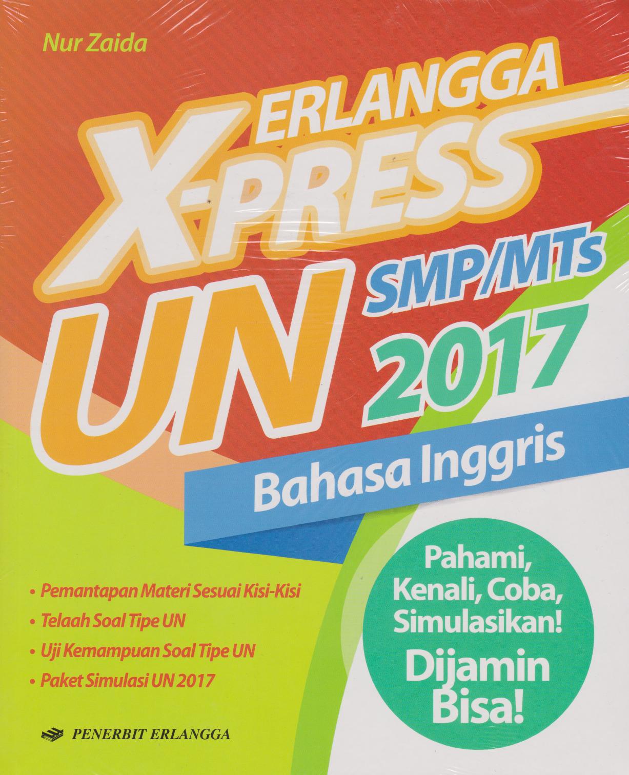 Buku Erlangga X Press Un Nur Zaida Mizanstore