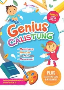 Buku Genius Calistung Membaca Artgensi Kids Mizanstore