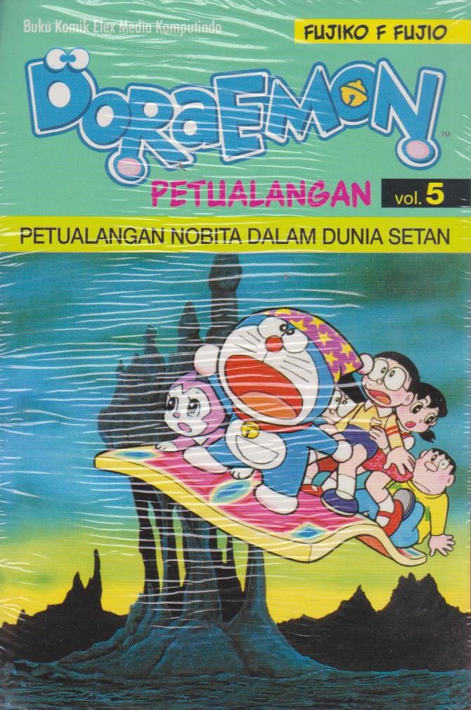 Buku Doraemon Petualangan 05 Fujiko F Mizanstore