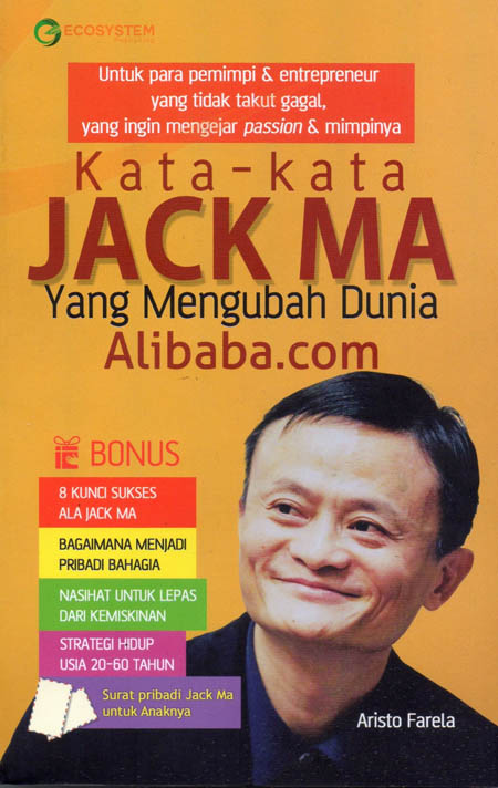 Buku Kata Kata Jack Ma Mizanstore