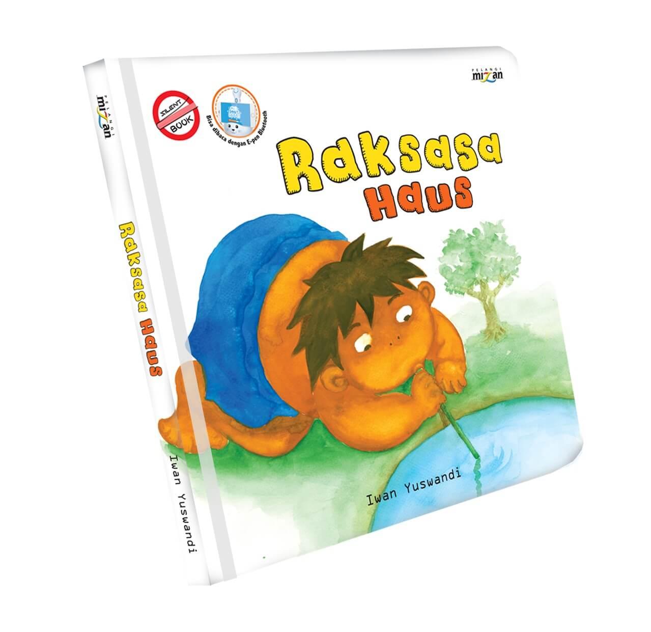 SERI SILENT BOOK: RAKSASA HAUS