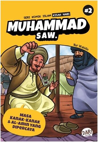 SKI KISAH NABI MUHAMMAD SAW:MASA KANAK-KANAK & AL-AMIN YG DA