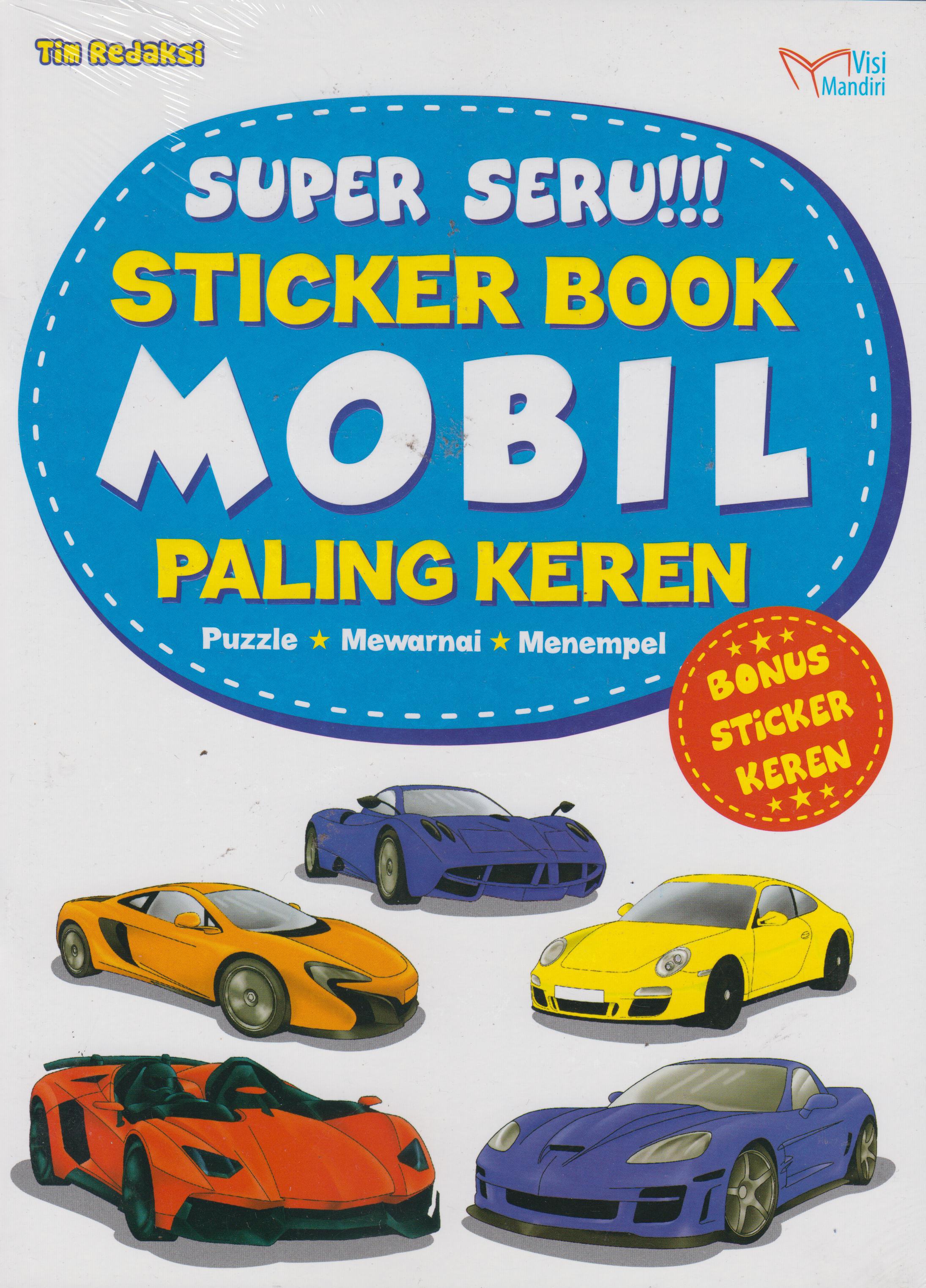 Buku Mobil Paling Keren Tim Redaksi Mizanstore