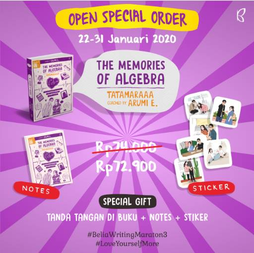 THE MEMORIES OF ALGEBRA - PRE ORDER