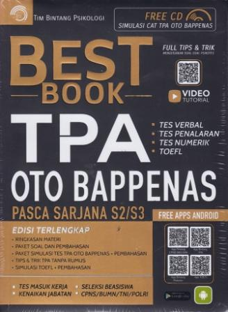 BEST BOOK TPA OTO BAPPENAS
