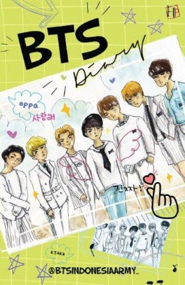Buku BTS DIARY - @btsindonesiaarmy_ | Mizanstore