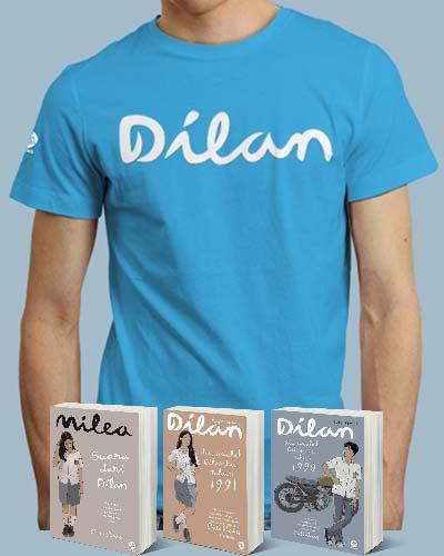 BUNDLING DILAN #1, DILAN#2, MILEA + TSHIRT