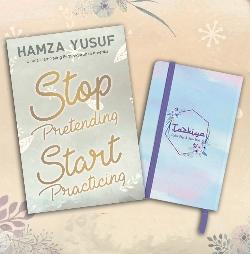 BUNDLING Tazkiya zikir pagi & sore + Stop Pretending Start Practicing