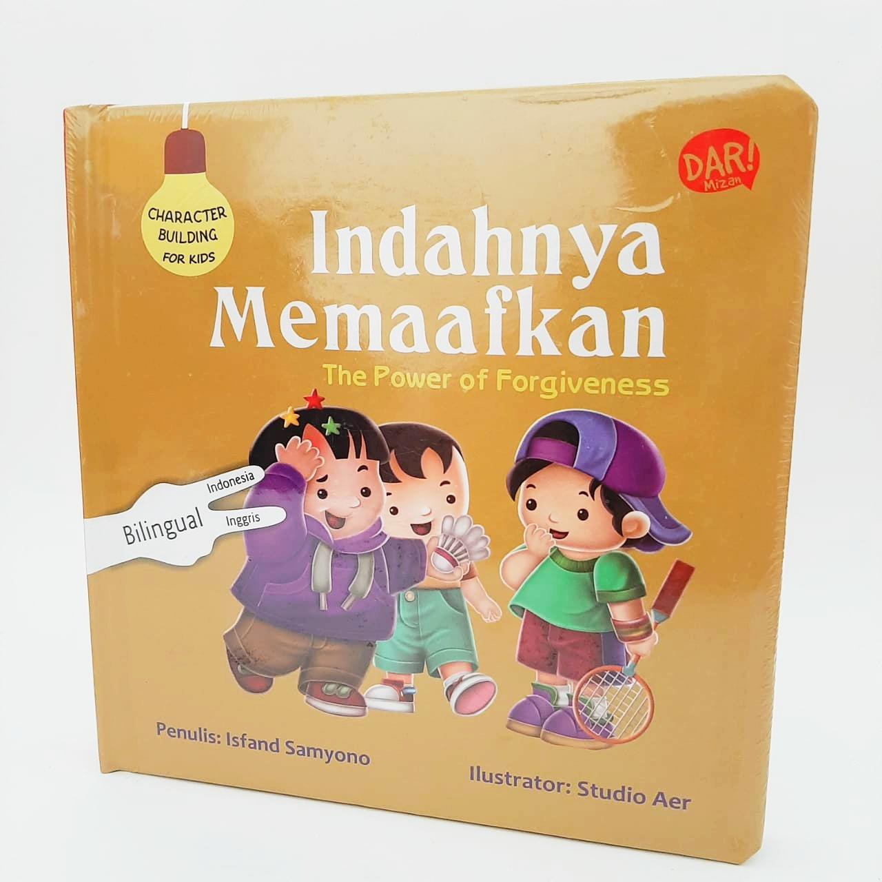 CBFK: INDAHNYA MEMAAFKAN (BOARDBOOK) BILINGUAL(INDONESIA-INGGRIS)