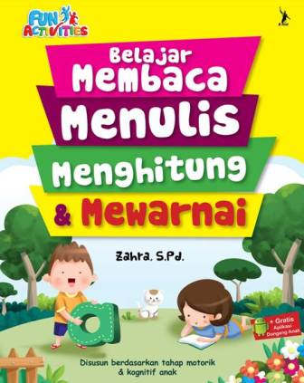 Buku Belajar Membaca Menulis Zahra Spd Mizanstore