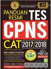 PANDUAN RESMI TES CPNS CAT 2017-2018 + CD