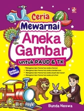 Buku Ceria Mewarnai Aneka Bunda Neswa Mizanstore