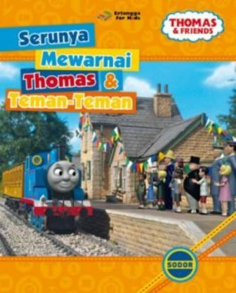 Buku Thomas Friends Tim Efk Mizanstore