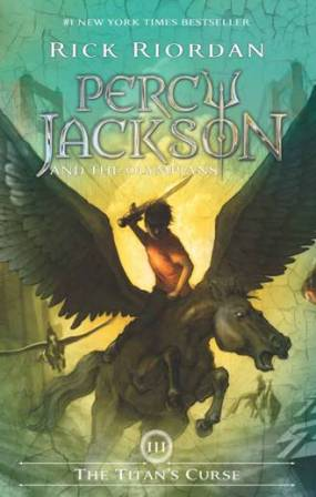PERCY JACKSON : THE TITANS CURSE (COVER 8 TH ANNIVERSARY PERCY J