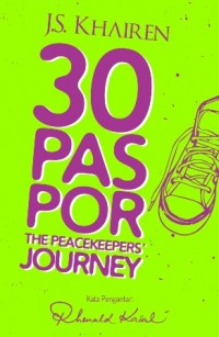 30 PASPOR THE PEACEKEEPERS JOURNEY