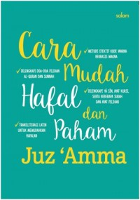 CARA MUDAH HAFAL DAN PAHAM JUZ AMMA-HC