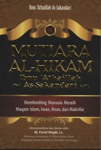 MUTIARA AL-HIKAM IBNU ALTHAILLAH AS-SAKANDARI