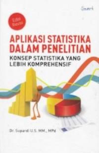 APLIKASI STATISTIKA DALAM PENELITIAN