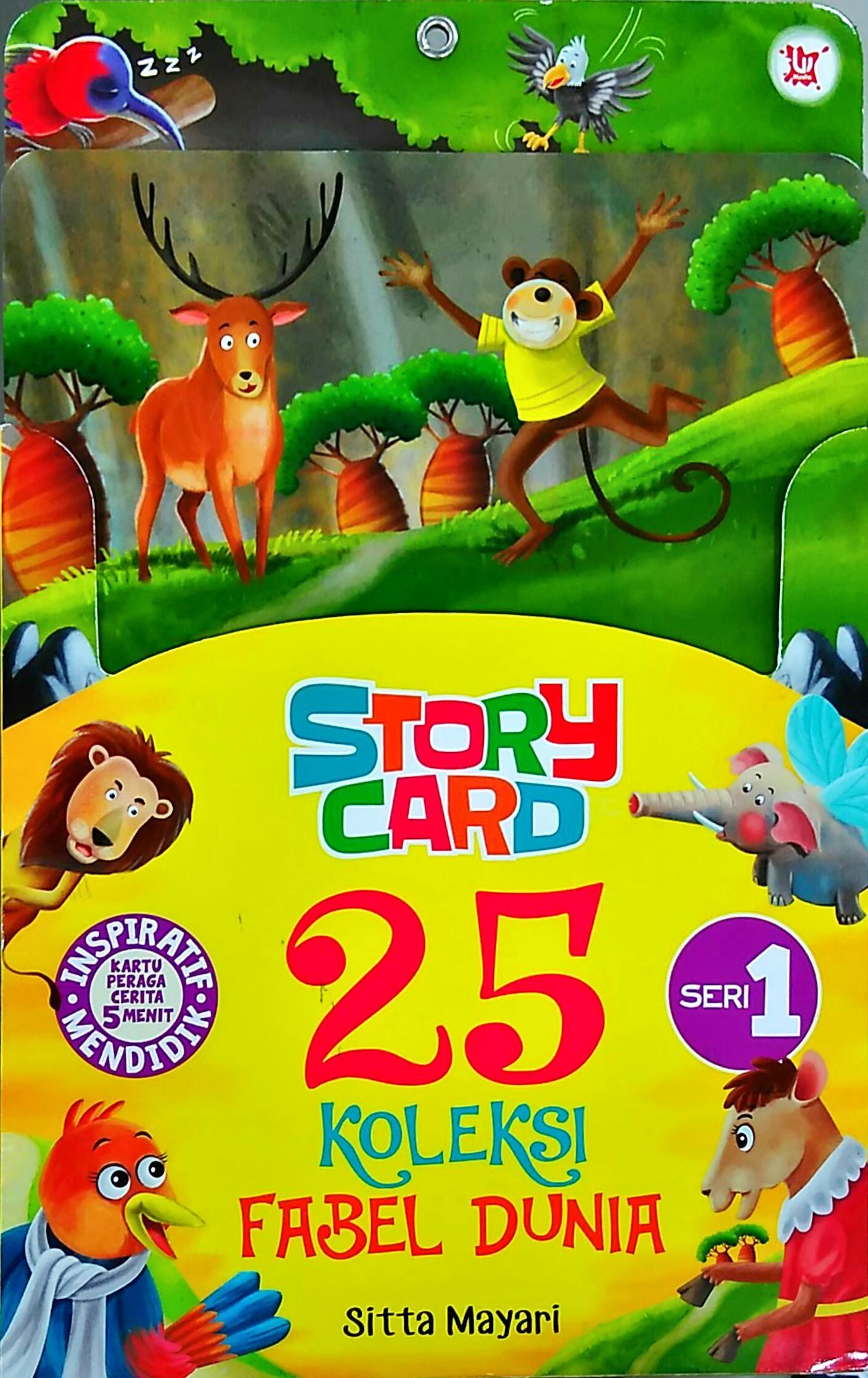 Buku Story Card 25 Sitta Mayari Mizanstore