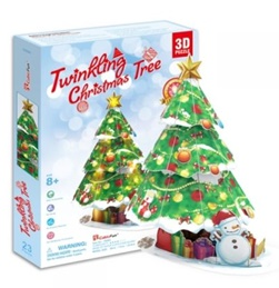CUBICFUN TWINKLING CHRISTMAS TREE P680H