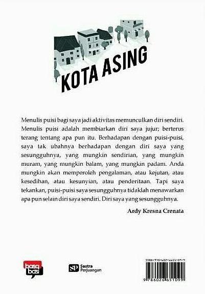 Buku Kota Asing Sekumpulan Ardy Kresna Mizanstore