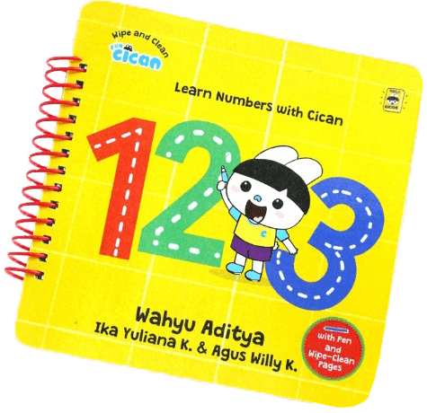 FUN CICAN.WIPE AND CLEAN: LEARN NUMBER WITH CICAN 123 (BOARDBOOK)