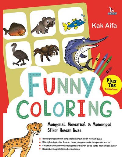 Buku Funny Coloring Kak Aifa Mizanstore