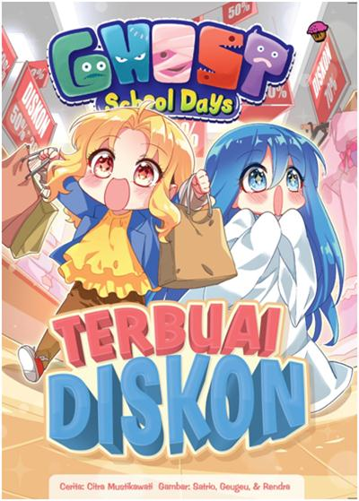 GHOST SCHOOL DAYS: TERBUAI DISKON