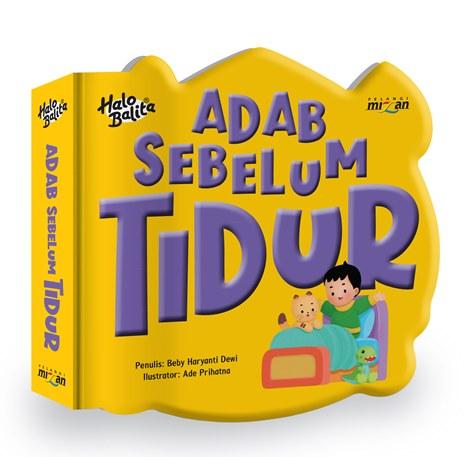 HALO BALITA.PENUNTUN: ADAB SEBELUM TIDUR (BOARDBOOK) - PRE ORDER