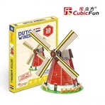 HOLLAND WINDMILL MINI - 3D PUZZLE