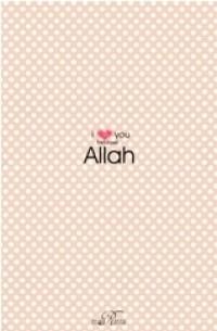 I Love You Because Allah (Self Publishing)