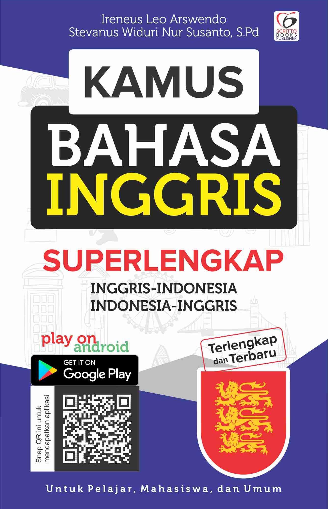 Ebook Kamus Bahasa Inggris Indonesia