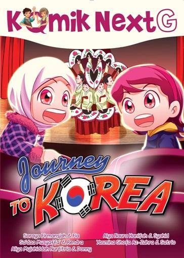 KOMIK NEXT G JOURNEY TO KOREA