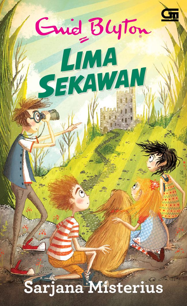 Ebook Novel Lima Sekawan