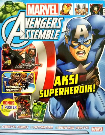 MARVEL AVENGERS ASSEMBLE: AKSI SUPERHEROIK! [DISNEY - MARVEL]