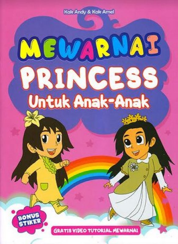 gambar princess untuk mewarnai semburat warna