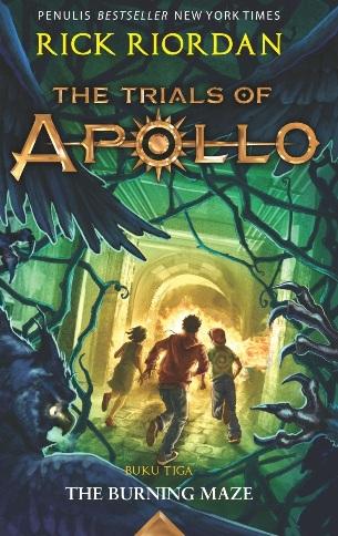 TRIALS OF APOLLO #3: THE BURNING MAZE