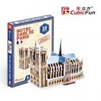 NOTRE DAME DE PARIS MINI  - 3D Puzzle