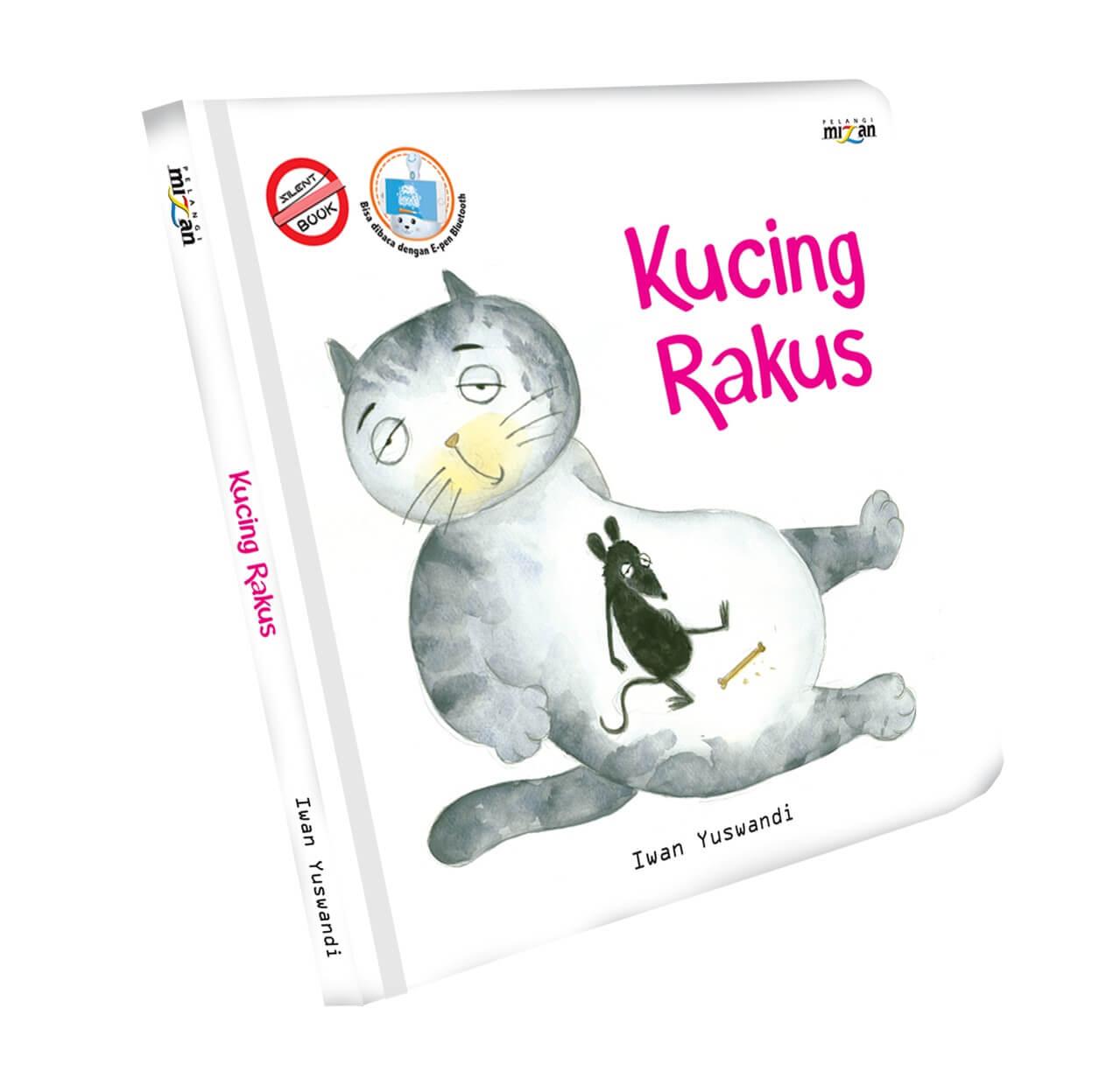 SERI SILENT BOOK: KUCING RAKUS