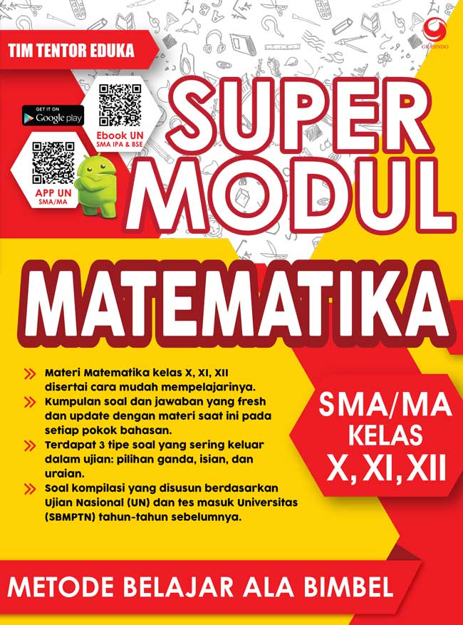 SUPER MODUL MATEMATIKA SMA KELAS X, XI, DAN XII