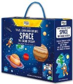 TRAVEL, LEARN AND EXPLORE: SPACE. THE SOLAR SYSTEM OVAL PUZZLE