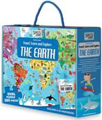 TRAVEL,LEARNANDEXPLORE:THE EARTH OVAL PUZZLE