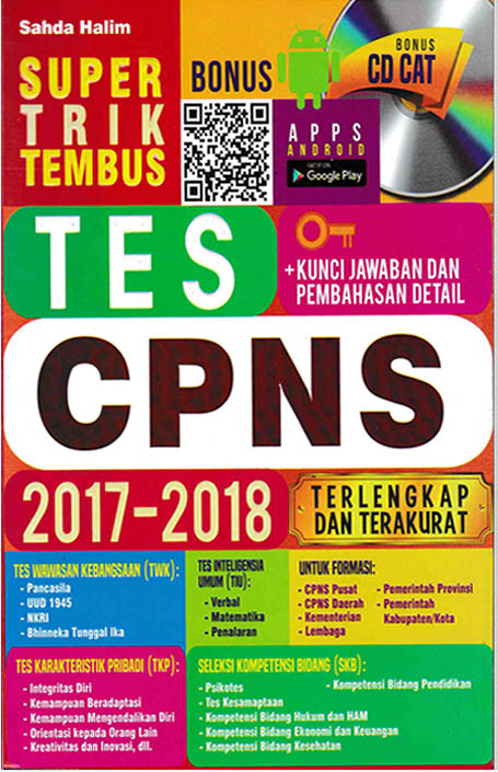 SUPER TRIK TEMBUS TES CPNS 2017-2018